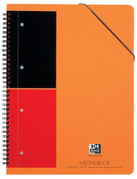 Oxford INTERNATIONAL Meetingbook, 160 pages, ft A4+, ligné