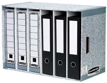 Fellowes module de rangement Bankers Box avec 6 cases, ft 40 x 29 x 58 cm