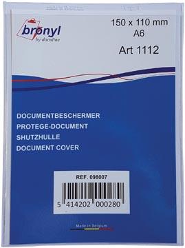 Bronyl étui en U en PVC transparente de 180 microns, ft A6