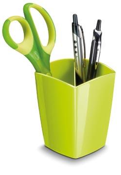 Gloss by CEP pot à crayons avec 2 compartiments, vert anis