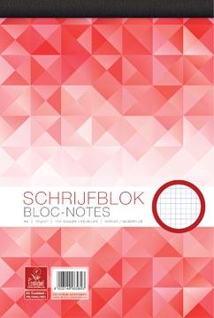 Work bloc-notes, ft A4, 70 g/m², 100 feuilles, quadrillé 5 mm