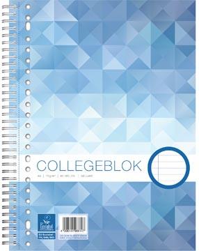 Work bloc de cours Collège, ft A4, ligné, 80 pages
