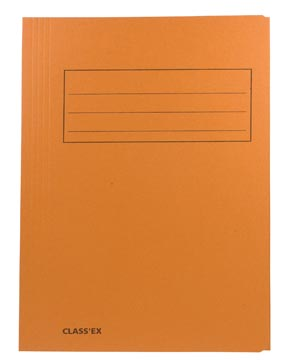 Class'ex chemise de classement, orange, ft 23,7 x 34,7 cm (pour ft folio)