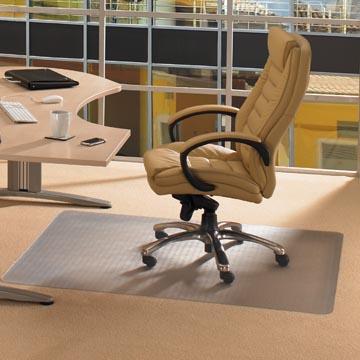 Floortex tapis de sol Cleartex Advantagemat, pour moquette, rectangulaire, ft 120 x 200 cm