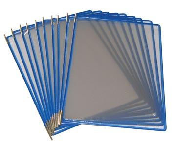 Tarifold poche à pivots bleu