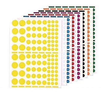 Agipa Gommettes 1.040 pièces, ronds