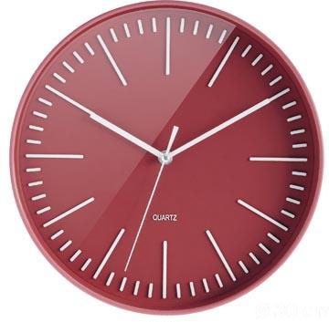 Orium by CEP horloge mural Tendance, rouge