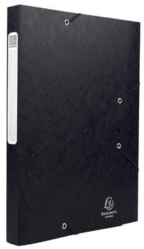 Exacompta Boîte de classement Cartobox dos de 2,5 cm, noir, épaisseur 5/10e