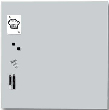 Naga tableau verre magnétique blanc