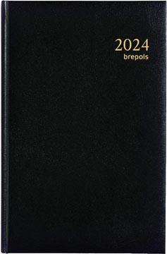 Brepols agenda Saturnus Lima, noir, 2022