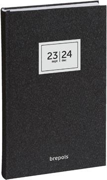 Brepols journal de classe Saturnus 16 mois Essenz, anthracite, 2021-2022