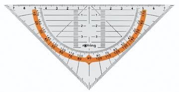 Rotring équerre géométrique Centro