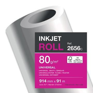 Clairefontaine papier plotter ft 914 mm x 91 m, 80 g