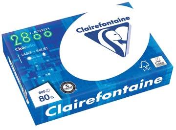 Clairefontaine Clairalfa papier d'impression, A4, 80 g, paquet de 500 feuilles