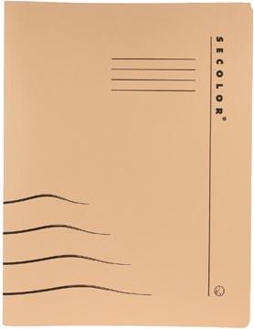 Jalema Chemise avec clip Secolor pour ft A4 (31 x 25/23 cm), chamois
