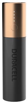 Duracell Powerbank, 3350 mAh, en noir - cuivre, 1 pièce
