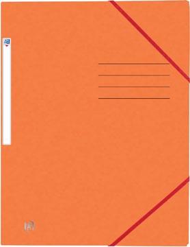 Elba Oxford Top File+ farde à rabats, pour ft A4, orange