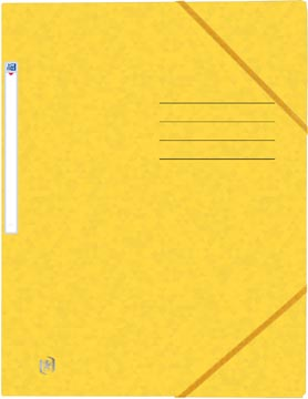 Elba Oxford Top File+ farde à rabats, pour ft A4, jaune