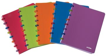 Atoma cahier Tutti Fruit Rings, ft 16,5 x 21 cm, quadrillé 5 mm