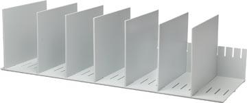 Paperflow trieur à séparateurs amovibles, 10 diviseurs, largeur 80,2 cm