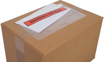 Cleverpack pochette documents, Documents Enclosed, ft 230 x 112 mm, paquet de 100 pièces
