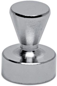 Maul aimant neodymium forme quille, diamètre 12 mm, paquet de 5