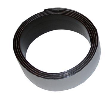 Bouhon Ruban magnétique, ft 25 mm x 1 m