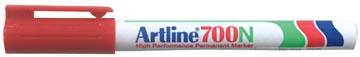Marqueur permanent Artline 700, rouge