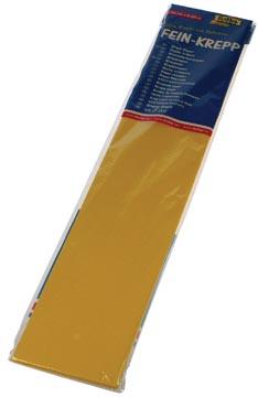 Folia papier crépon, jaune