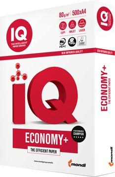 IQ Economy+ papier d'impression ft A4, 80 g, paquet de 500 feuilles