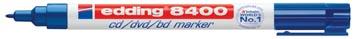 Edding marqueur permanent pour CD/DVD/BD e-8400 bleu