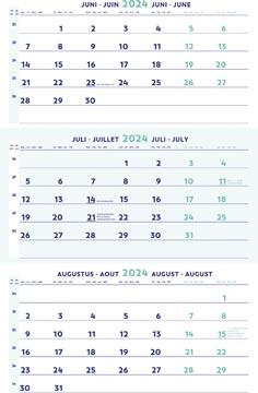 Brepols calendrier trimestriel, 2022