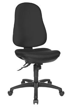 Topstar chaise de bureau Support SY, noir