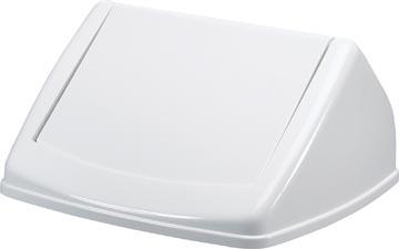 Durable couvercle Durabin Fliplid 40 litre, blanc