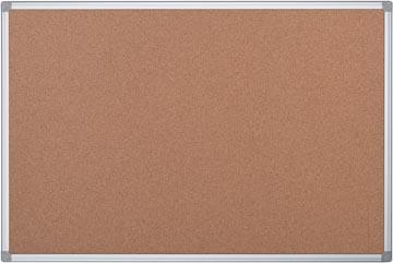 Pergamy tableau en liège avec cadre en aluminium ft 45 x 60 cm