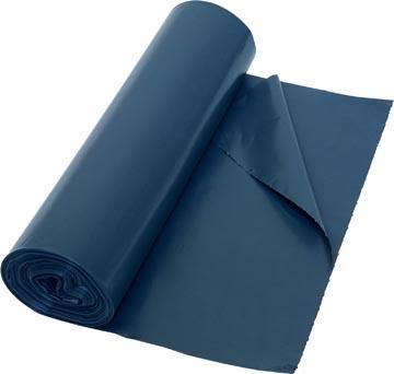 Sac poubelle 40 microns, ft 60 x 80 cm, gris, rouleau de 20 pièces