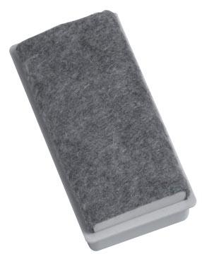 Naga Frotteur magnétique pour tableaux blancs, ft 7,5 x 3,5 x 2,4 cm