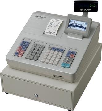 Sharp caisse enregistreuse thermique XE-A207W, blanc
