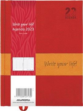 Aurora Plan-a-week 27 Quartet, couleurs assorties, 2022