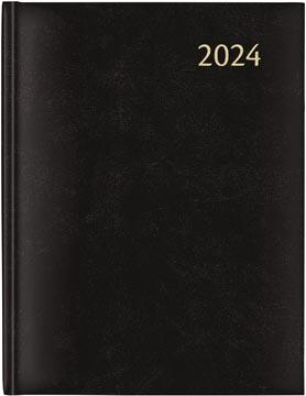 Aurora Plan-a-week 27 Florence, noir, 2022