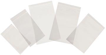 Tenza sachets transparents, ft 57 x 76 mm, paquet de 100 pièces