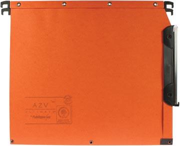 L'Oblique dossiers suspendus pour armoires AZV fond 15 mm, orange