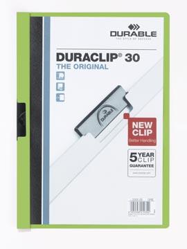 Durable chemise à pince Duraclip Original 30 vert