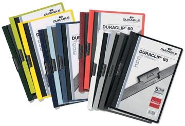 Durable Chemise à pince Duraclip Original 60 couleurs assorties