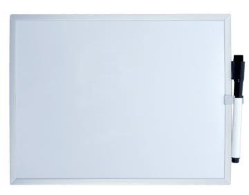 Desq tableau blanc magnétique, ft 30 x 40 cm
