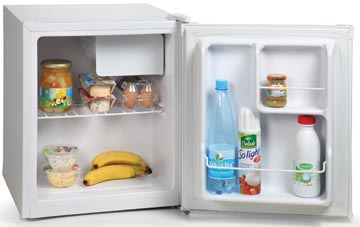 Domo réfrigérateur 46 litre, classe énergie A, ft 44 x 47 x 51 cm, blanc