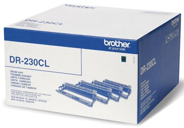 Brother tambour, 15.000 pages, OEM DR-230CL, 4 couleurs