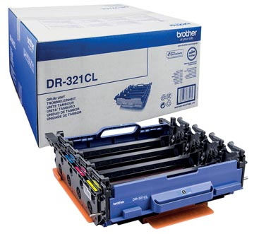 Brother tambour, 25.000 pages, OEM DR-321CL, noir