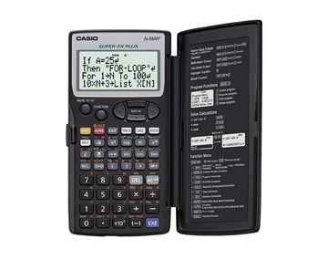 Casio calculatrice graphique FX5800P