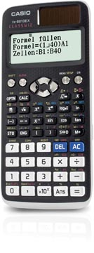 Casio calculatrice scientifique FX-991DEX, version allemande